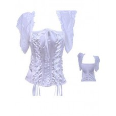 For Lingerie Sweet White Corset