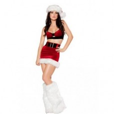 Santa Cutie Costume Without Leg Warmers