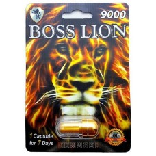 Boss Lion Sexual Performance Enhancement for Men