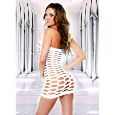 Mini Dress With Open Holes Dance