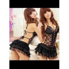 Open G-String Nightwear black