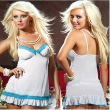 Romance Chemise And Thong