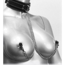 Neck Ring With Nipple Clips