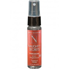 Naughty Secrets Pheromone Body Mist Tropical Tease